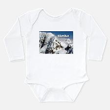 Alaska Range mountains, Alaska, USA (cap Body Suit