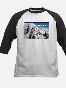 Alaska Range mountains, Alaska, US Baseball Jersey