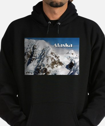Alaska Range mountains, Alaska, USA Hoodie (dark)