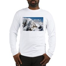 Alaska Range mountains, Alaska Long Sleeve T-Shirt