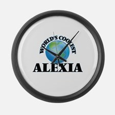 World's Coolest Alexia Large Wall Clock