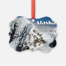 Alaska Range mountains, Alaska, U Ornament