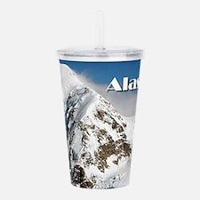 Alaska Range mountains Acrylic Double-wall Tumbler
