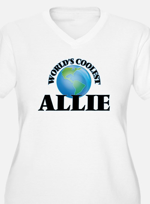 World's Coolest Allie Plus Size T-Shirt