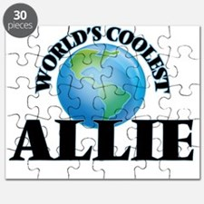 World's Coolest Allie Puzzle