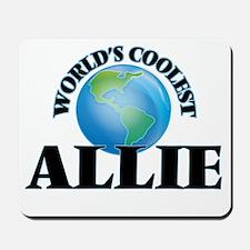 World's Coolest Allie Mousepad