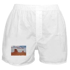 Monument Valley (caption) Boxer Shorts