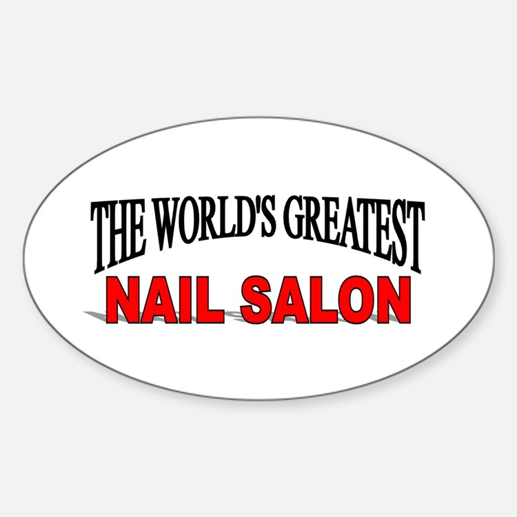 nail salon bumper stickers car stickers decals more. Black Bedroom Furniture Sets. Home Design Ideas
