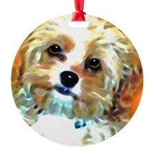 Cute Mother Round Ornament