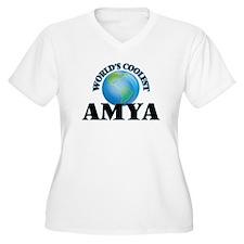 World's Coolest Amya Plus Size T-Shirt