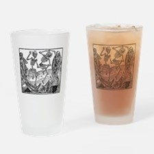 Death's Dance Drinking Glass