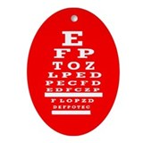 Eye doctor Ornaments