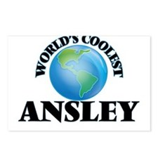 World's Coolest Ansley Postcards (Package of 8)