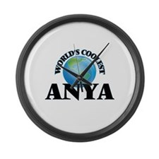 World's Coolest Anya Large Wall Clock