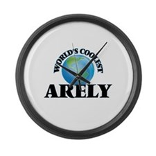 World's Coolest Arely Large Wall Clock