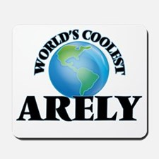 World's Coolest Arely Mousepad