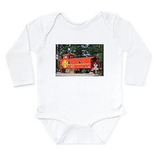Santa Fe Railway Train Caboose, Williams Body Suit