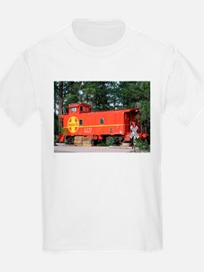 Santa Fe Railway Train Caboose, Williams, T-Shirt