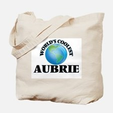 World's Coolest Aubrie Tote Bag