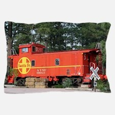 Santa Fe Railway Train Caboose, Willia Pillow Case