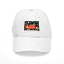 Santa Fe Railway Train Caboose, Williams, Ariz Baseball Cap