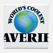 World's Coolest Averie Tile Coaster