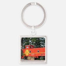Santa Fe Railway Train Caboose, Keychains
