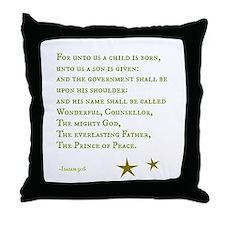 Prince of Peace Throw Pillow