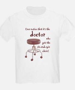 Docs Who Sit and Spin --  T-Shirt