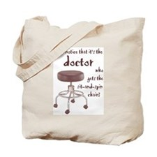 Docs Who Sit and Spin --  Tote Bag