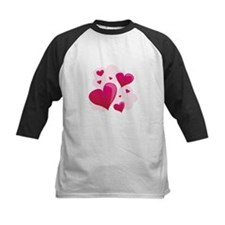 Hearts In Clouds Baseball Jersey