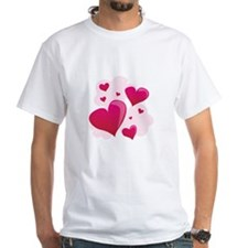 Hearts In Clouds T-Shirt
