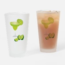 Margarita and limes Drinking Glass
