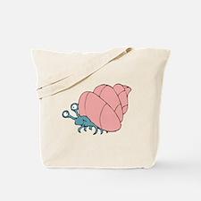 Cute Little Hermit Crab Tote Bag