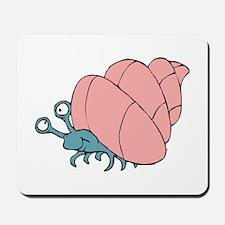 Cute Little Hermit Crab Mousepad