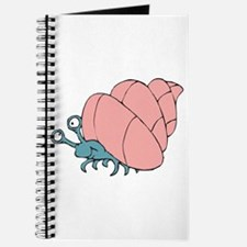 Cute Little Hermit Crab Journal