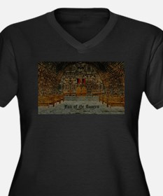 Medieval Tavern Plus Size T-Shirt