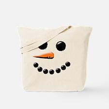 Cute Snowman Tote Bag