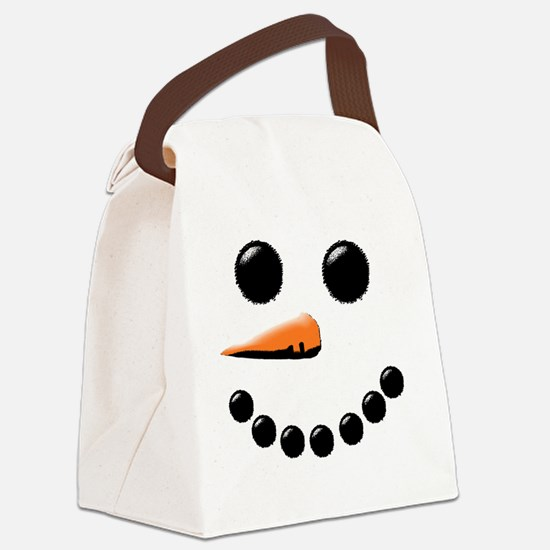 Cute Holiday Canvas Lunch Bag