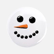 """Cute Snowman 3.5"""" Button (100 pack)"""