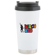 Disco Dad Travel Coffee Mug