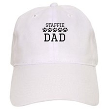 Staffie Dad Baseball Cap