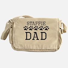 Staffie Dad Messenger Bag