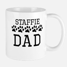 Staffie Dad Mugs