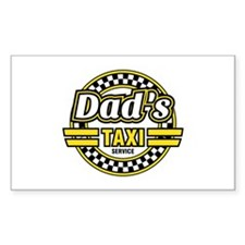 Dad's Taxi Service Decal
