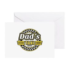 Dad's Taxi Service Greeting Card