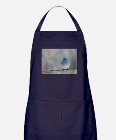Mountain Bluebird Apron (dark)