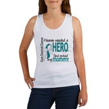 Cervical Cancer HeavenNeededHero1 Women's Tank Top