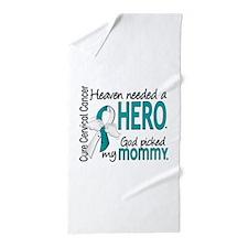 Cervical Cancer HeavenNeededHero1.1 Beach Towel