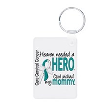 Cervical Cancer HeavenNeed Keychains